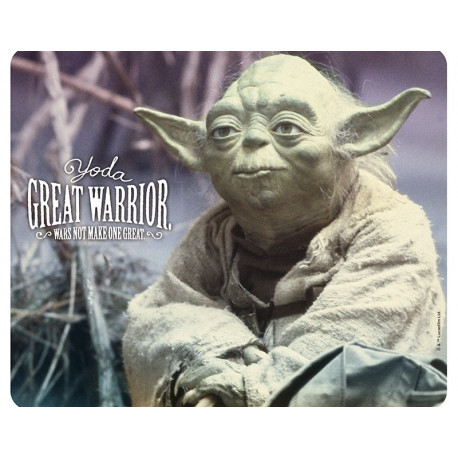 STAR WARS - Mousepad - Yoda great warrior*