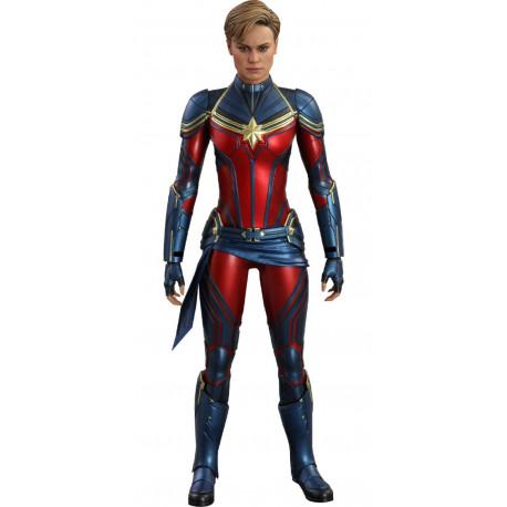 Capitana Marvel Figura Movie Masterpiece 1/6  Vengadores: Endgame Hot Toys