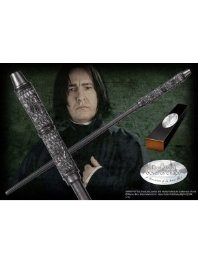 Varita de colección Profesor Severus Snape ed. caracter