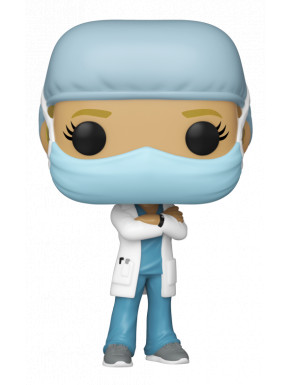 Funko Pop! COVID19 Heroes Chica pijama azul