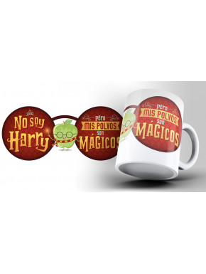 Taza Puterful Harry Potter