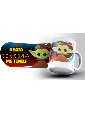 Taza Puterful Star Wars Yoda
