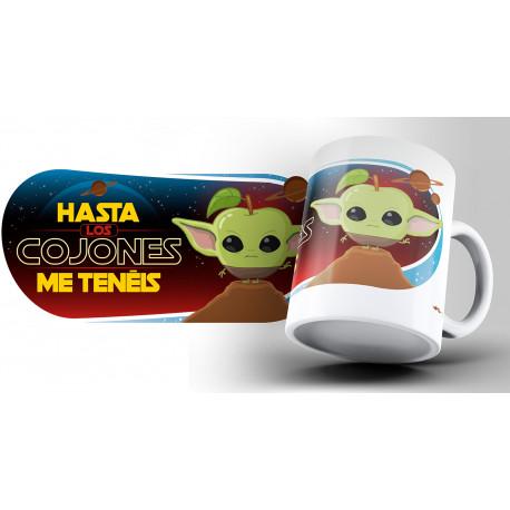 Taza Puterful Star Wars Yoda