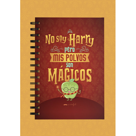Cuaderno Puterful Harry Potter