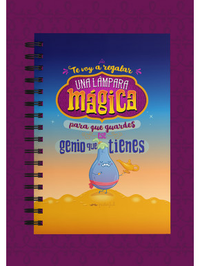 Cuaderno Puterful Disney Genio