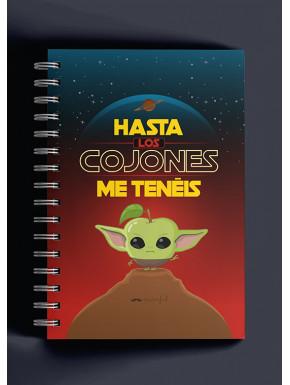Cuaderno Puterful Star Wars Yoda