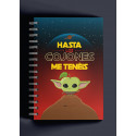 Libreta Puterful Star Wars Yoda