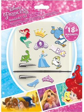 Set Imanes Disney Princesas