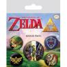 Pack chapas The Legend of Zelda Nintendo