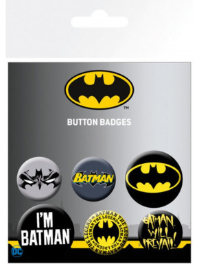 PACK CHAPAS DC COMICS BATMAN COMIC MIX