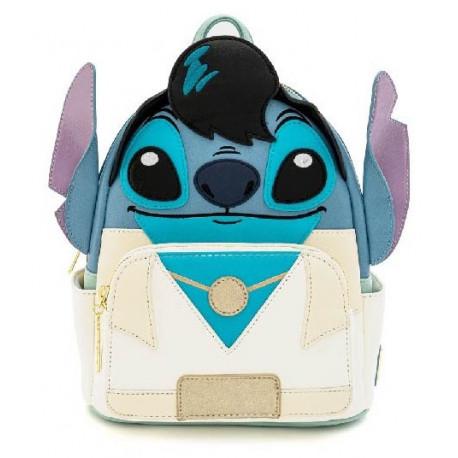 Elvis Stitch Cosplay Mini PU Backpack