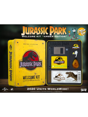 Jurassic Park Welcome Kit Amber Ed. Limitada