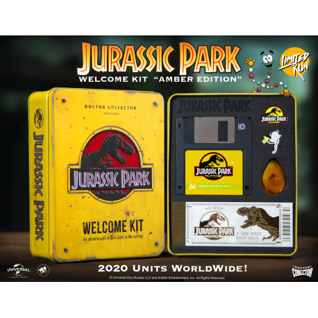 Jurassic Park Welcome Kit Amber Ed. Limitada