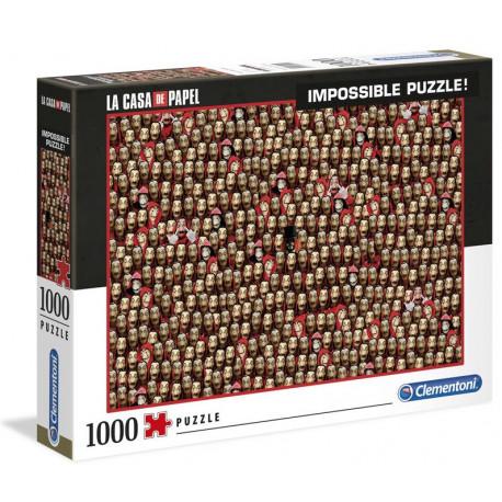 Puzzle Imposible La Casa de Papel 1000 piezas