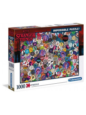 Stranger Things Puzzle Impossible Buttons