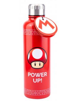 Botella metálica Super Mario Power Up 600 ml
