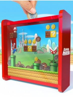 Hucha Super Mario coins
