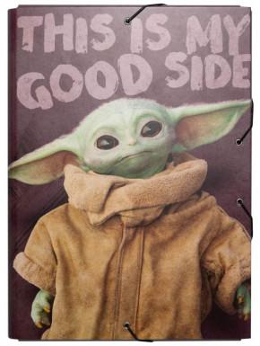 Carpeta Solapas Baby Yoda The Mandalorian