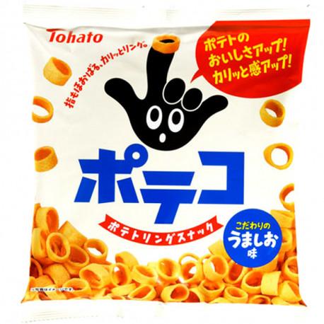 Aros de patata salados Tohato 78gr