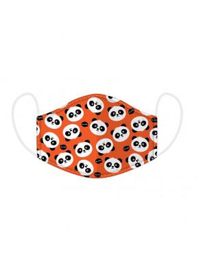 Mascarilla Protectora Reutilizable Panda Adorable - Pequeña