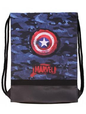 Bolsa gimnasio Capitán América Marvel