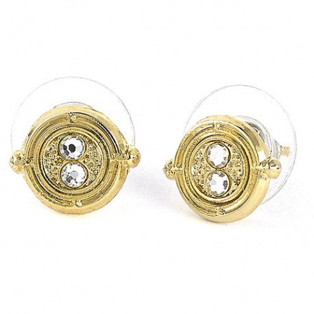 Pendientes giratiempo harry potter