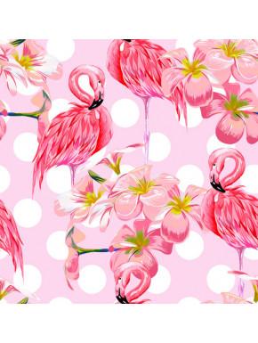 Pañuelo Foulard Flamingo Doodle