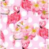 Pañuelo Foulard Pink Flamingo Doodle