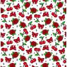 Pañuelo Foulard Cherry Vintage Doodle