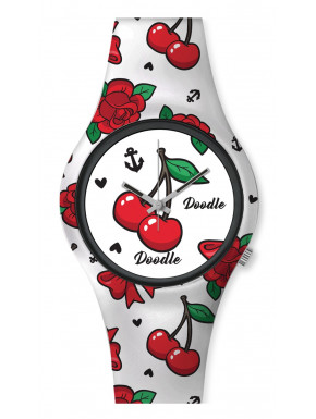 Reloj Cherry Vintage Doodle