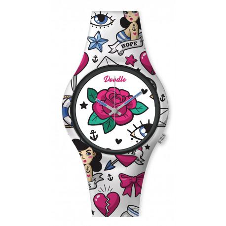 Reloj Vintage Tatoo Doodle