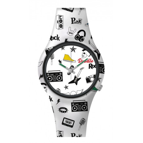 Reloj 80's Rock Doodle
