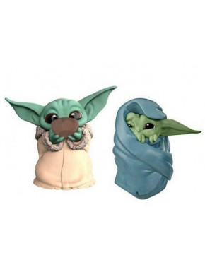 Star Wars Mandalorian Bounty Collection Pack de 2 Figuras The Child Sipping Soup & Blanket-Wrapped