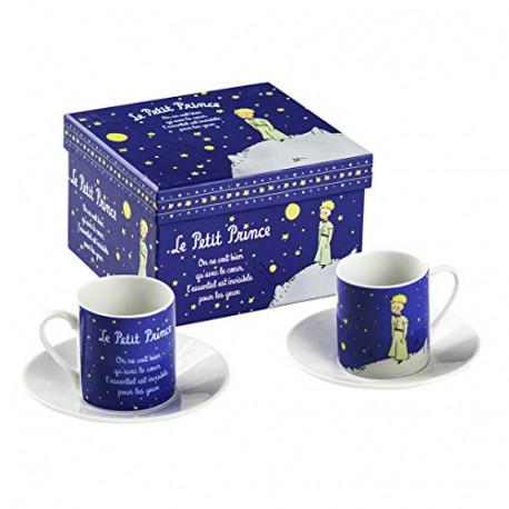 Set  tazas Espresso  El Principito