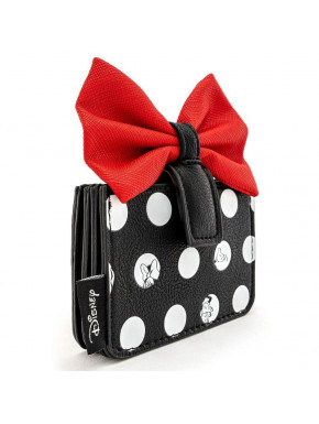 Minnie Polka Big Red Bow Cardholder