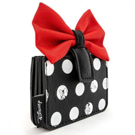 Minnie Polka Big Red Bow Cardholder