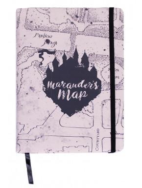 Libreta A5 Harry Potter Mapa Merodeador