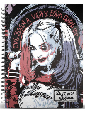 Libreta A5 Harley Quinn Little Monster