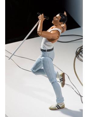 Freddie Mercury Figura S.H. Figuarts Live Aid Ver. 15 cm