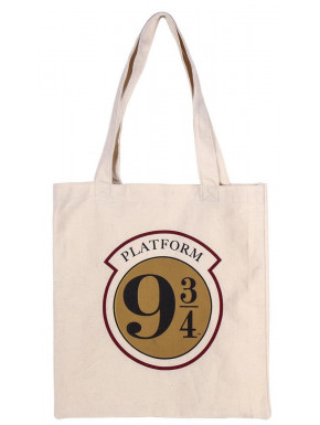 Bolsa Algodón Harry Potter Hogwarts Express Anden 9 3/4