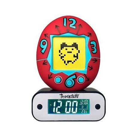 Reloj Despertador Lámpara LED Tamagotchi