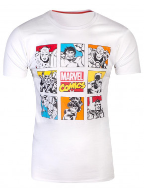 Camiseta Marvel Retro Character