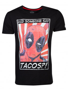 Camiseta Deadpool Tacos Marvel