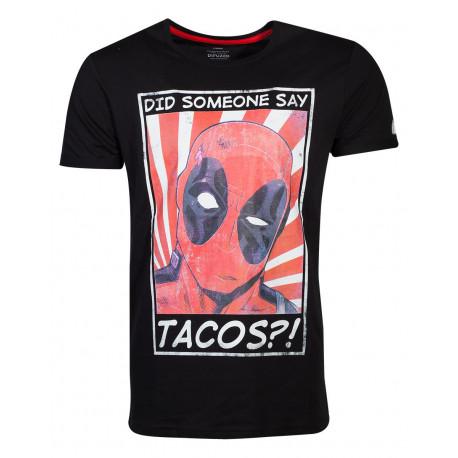 Camiseta Deadpool Tacos Marvel
