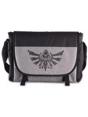 Bandolera premium Zelda Trifuerza gris