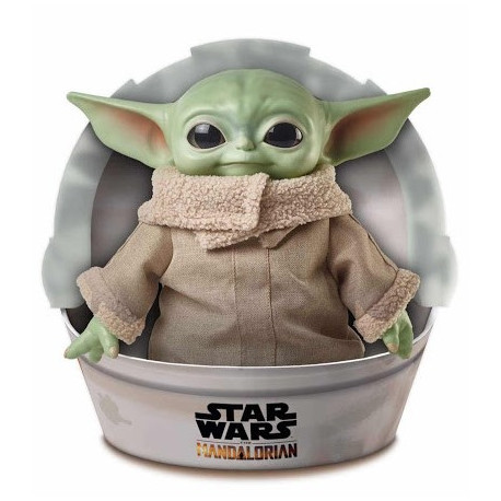 Peluche Baby Yoda The Mandalorian 29 cm