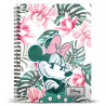 Libreta Disney Minnie Mouse A5 Floral