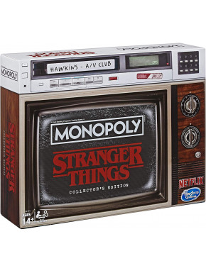 Monopoly Stranger Things Castellano Edición coleccionista