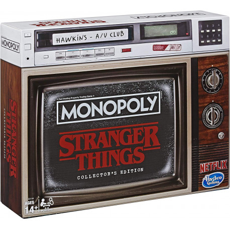 Monopoly Stranger Things Castellano