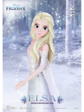 Figura Elsa  Master Craft Frozen  El reino del hielo  41 cm